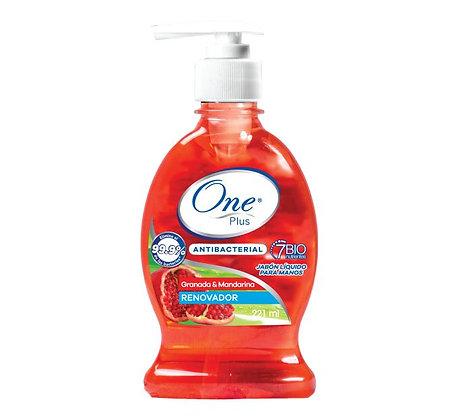 Jabón Líquido Antibacterial Granada & Mandarina