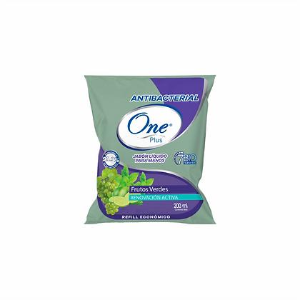 Jabón Líquido Antibacterial Frutos Verdes