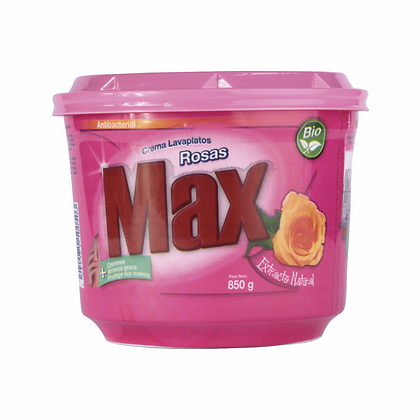 Lavaplatos en Crema Rosas 850g