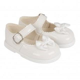 Baypod -White Baby Shoes