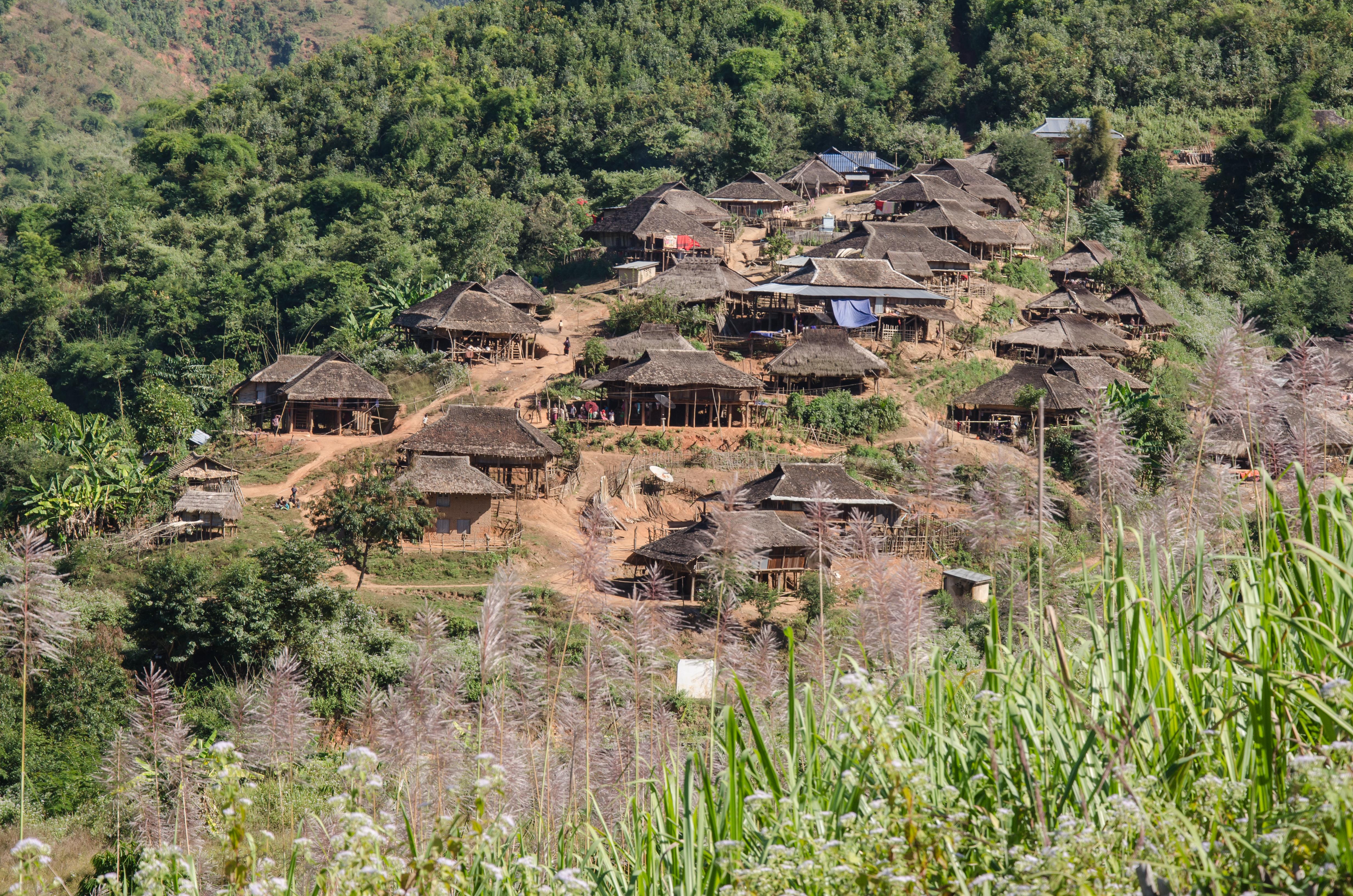 Kyaing Tong Trekking Scenery