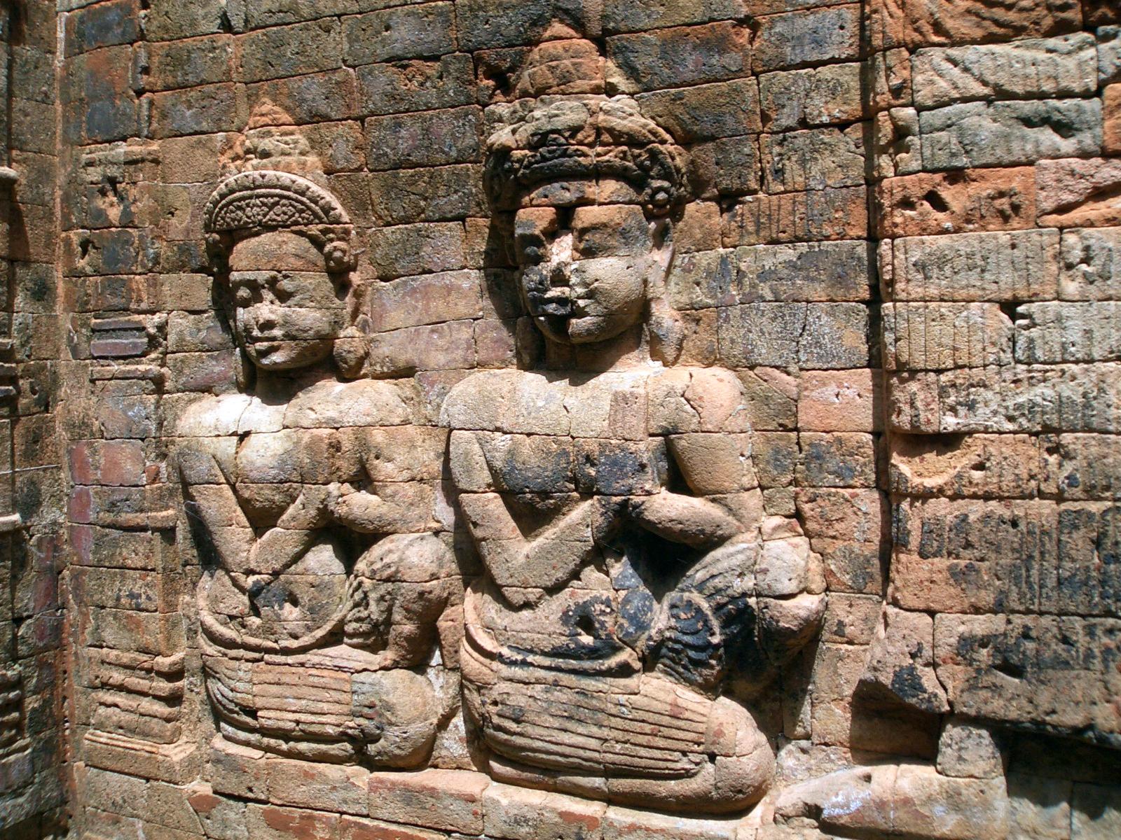 Angkor Wat, Prasat Kravan - detail 09