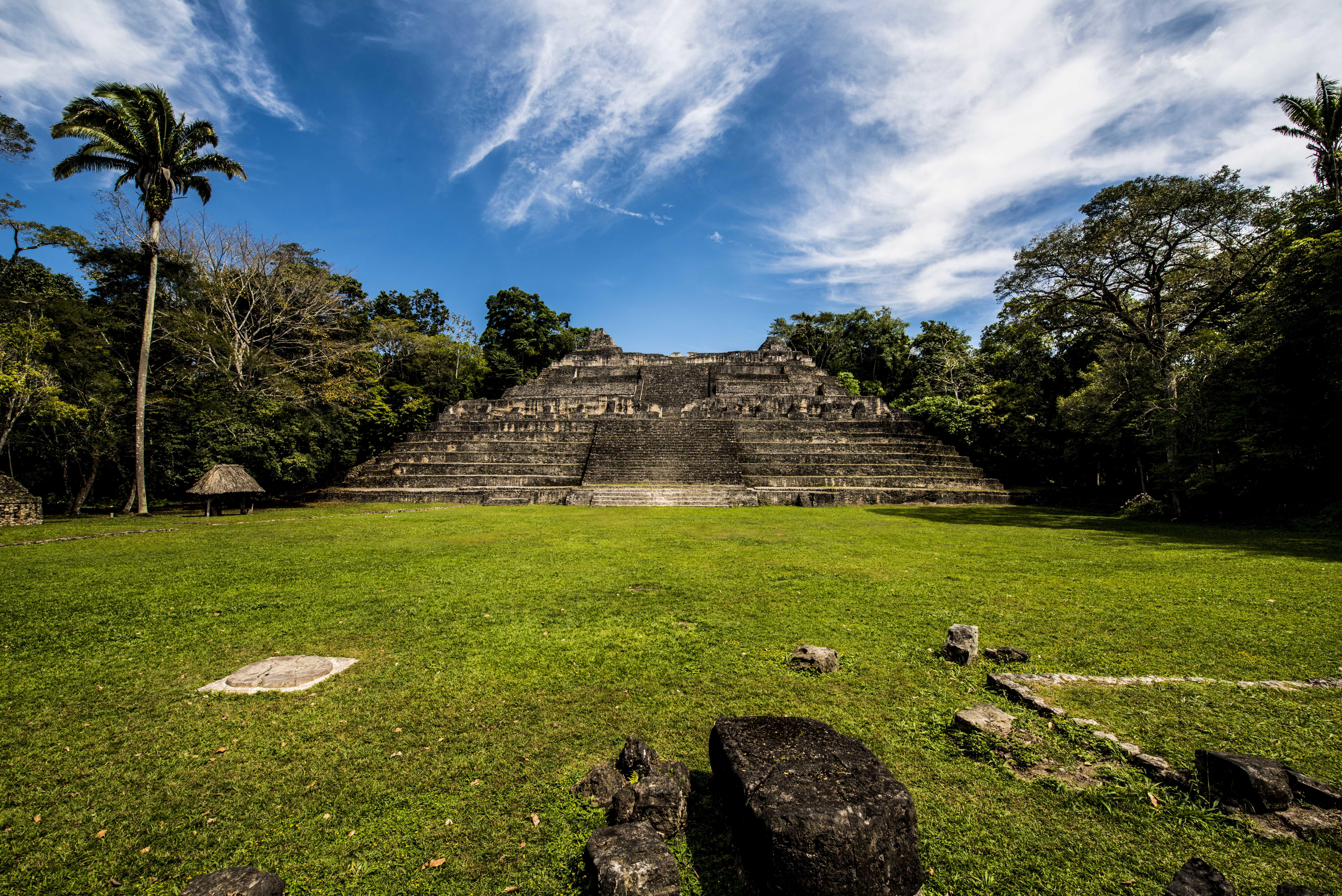 Caracol Mayan Site
