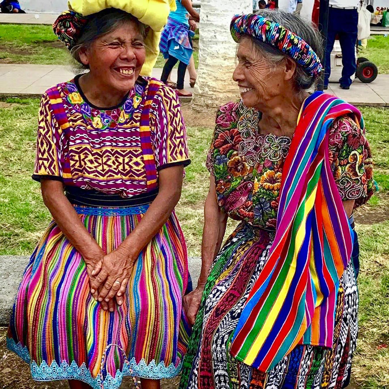 Mayan Community Glamping Trek - Mayan Women Smiling