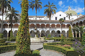 Colonial building Ecuador
