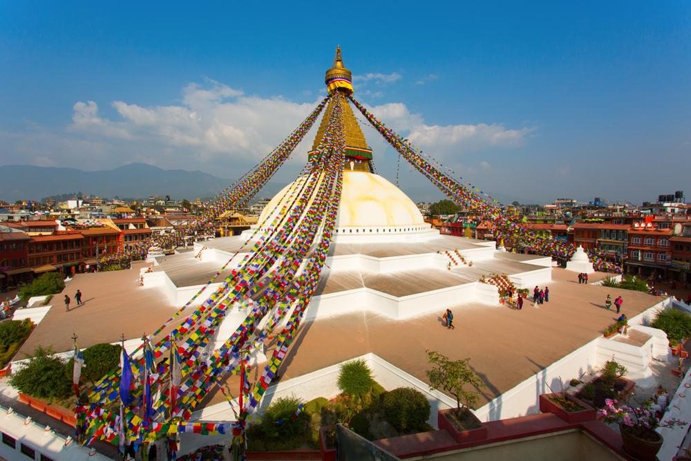 Boudhanath stupa.. shutterstock_266168759
