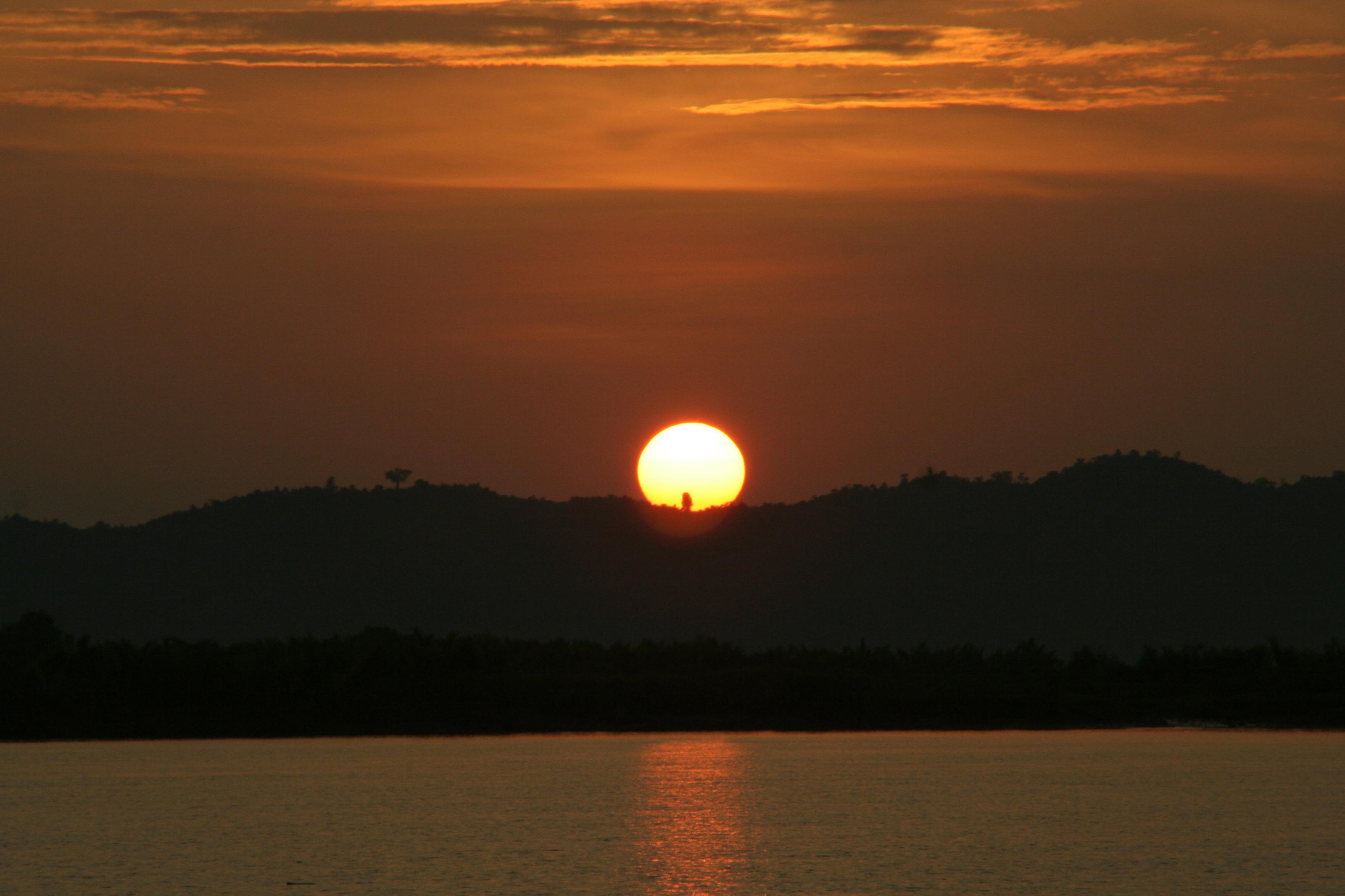 Mrauk U - sunset