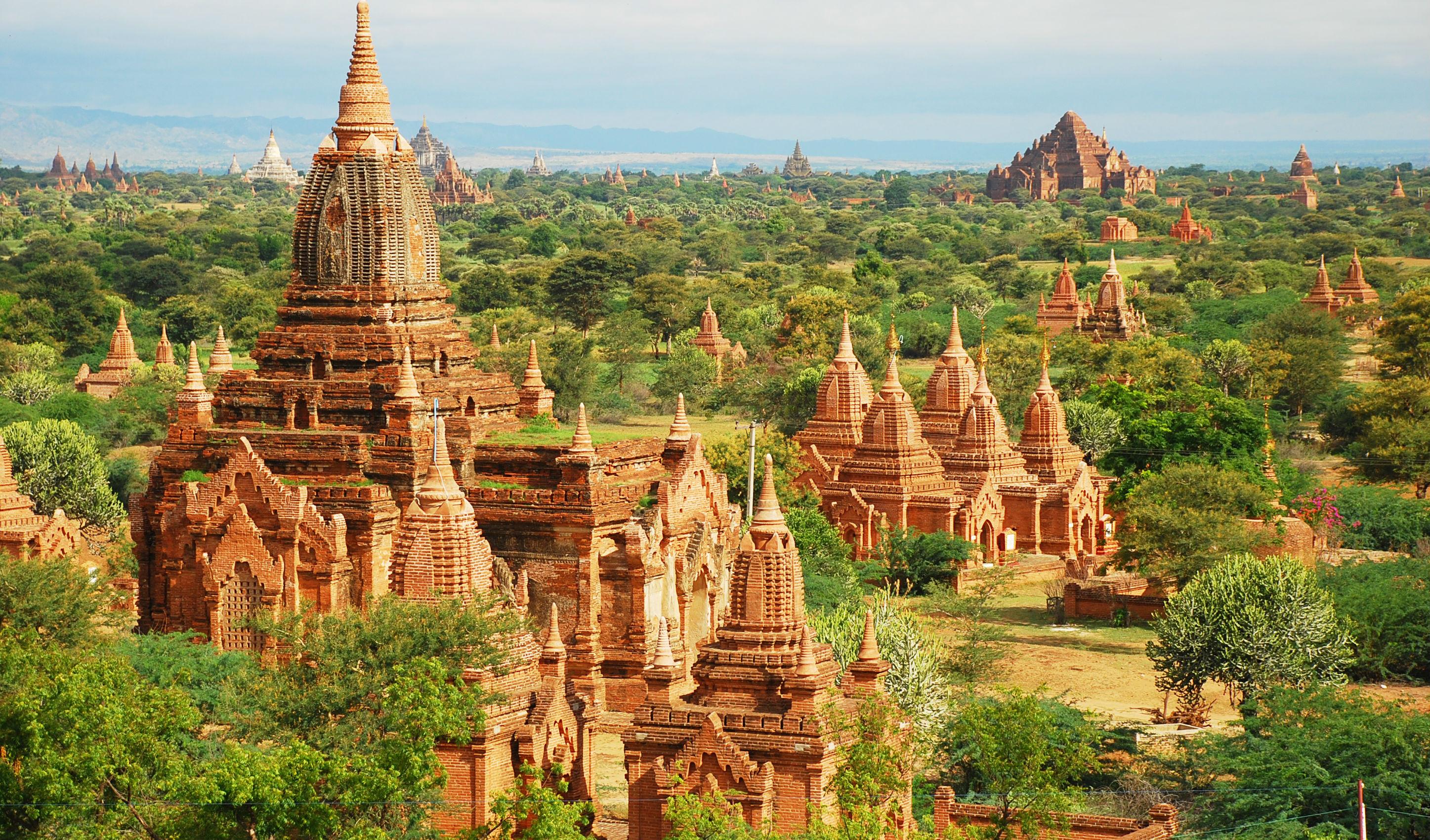 Bagan-temples