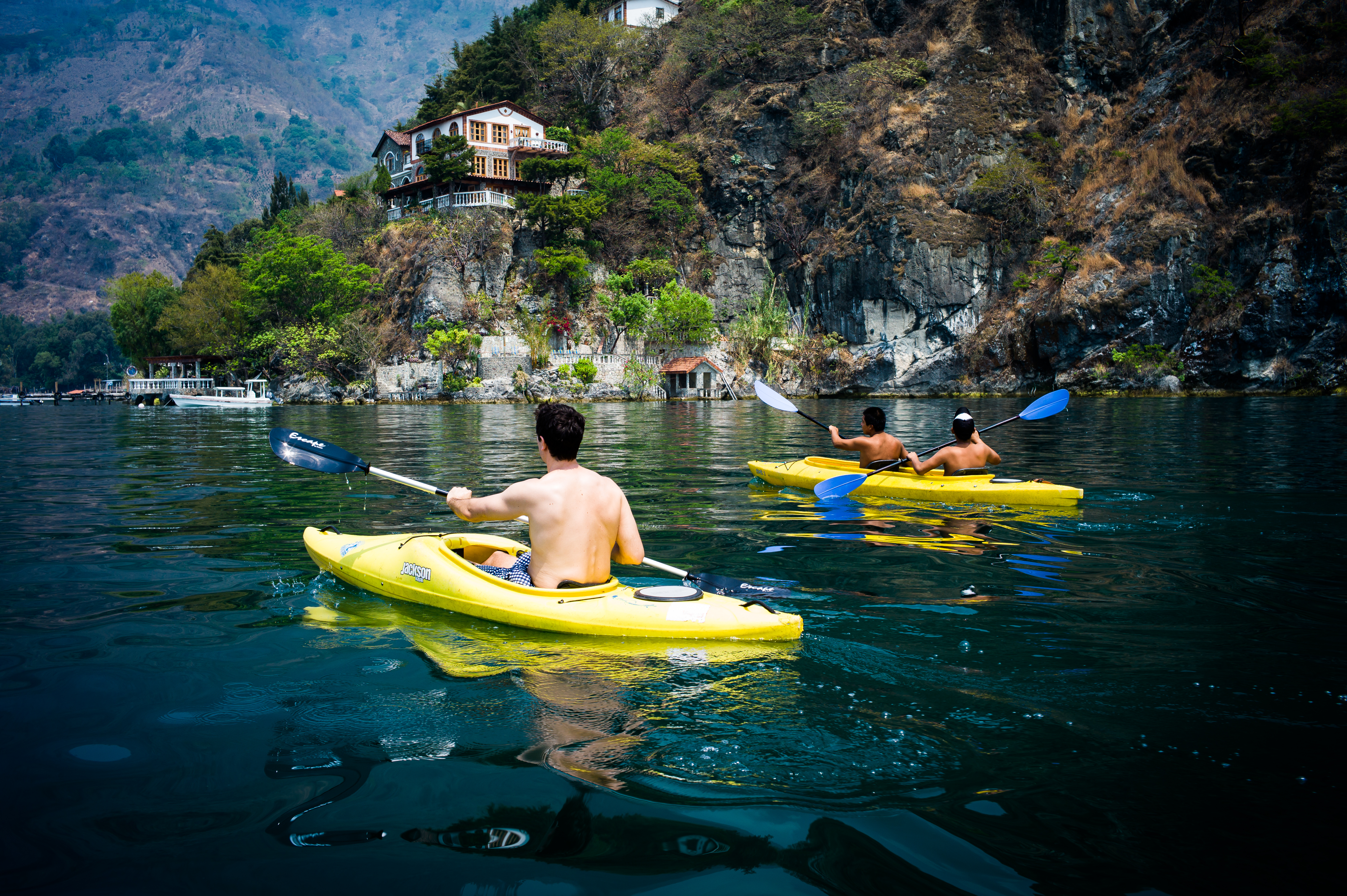 Kayak Lake Atitlan
