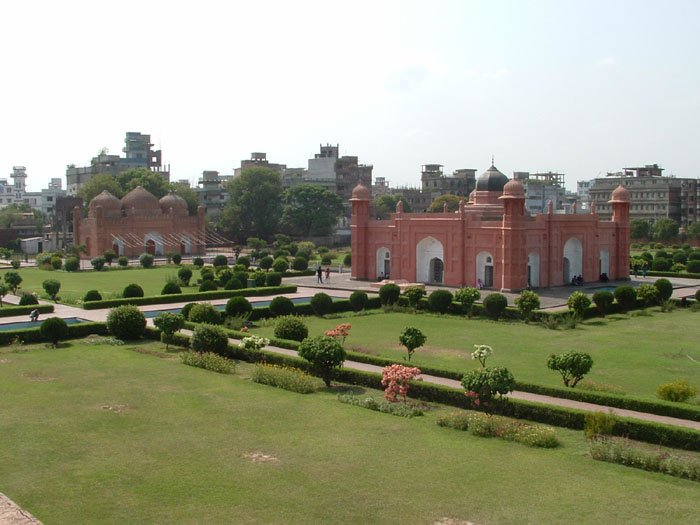 Lalbag Fort in Old Dhaka, Bangladesh