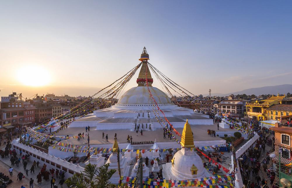 Boudhanath stupa Kathmandu shutterstock_290783966