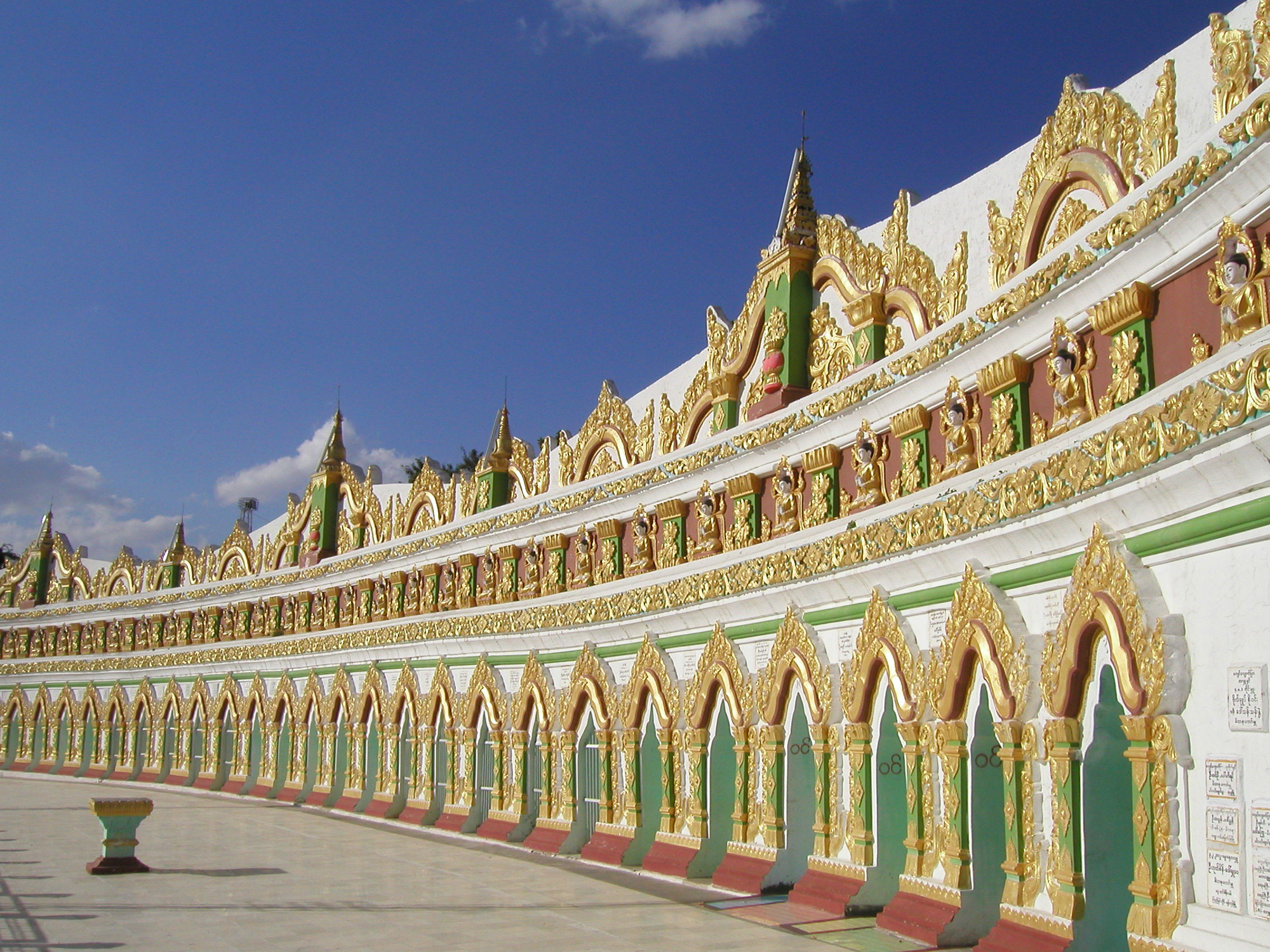 Mandalay Hill - monastery