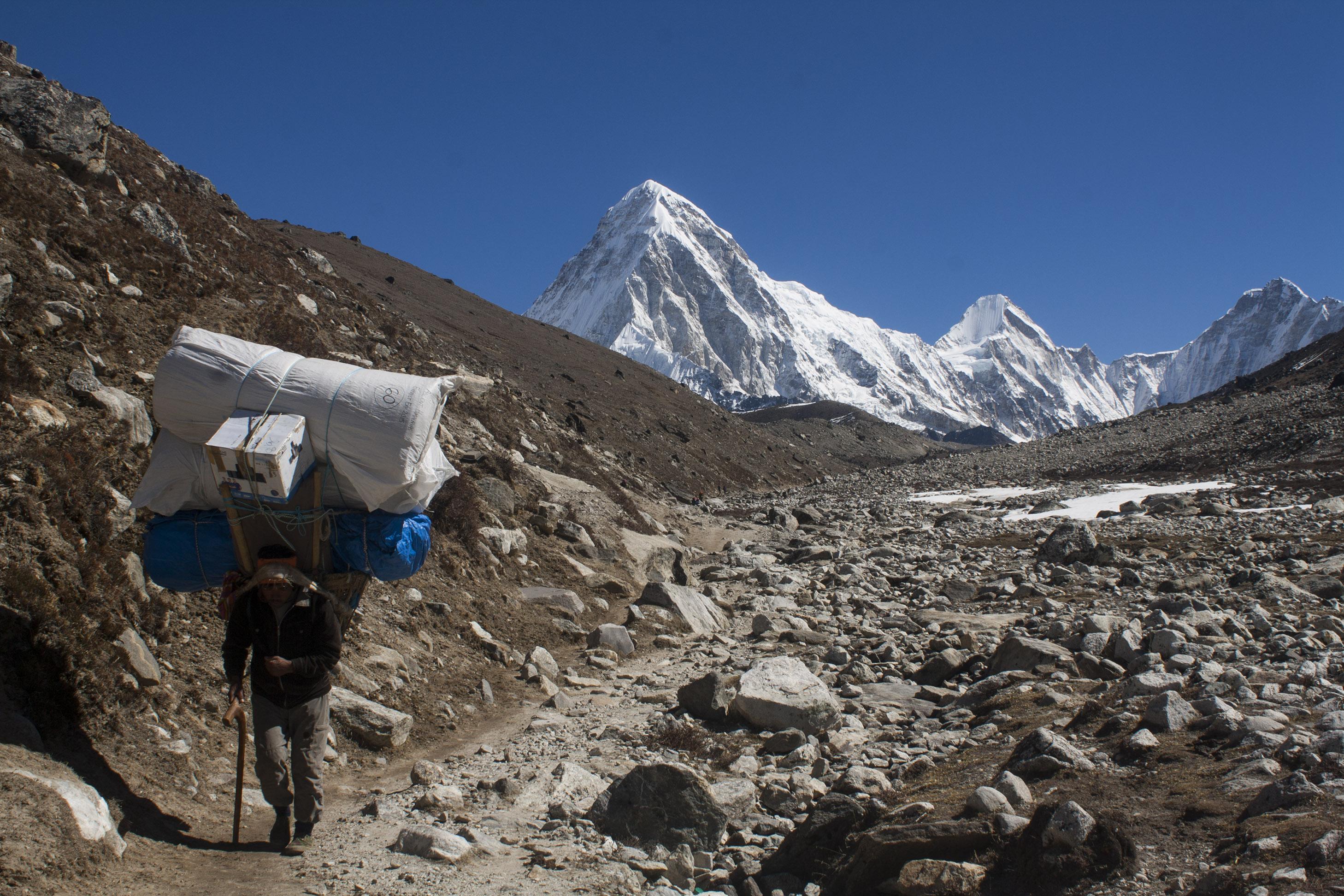 Sherpa_Hikes_from_Dughla_Towards_Lobuche