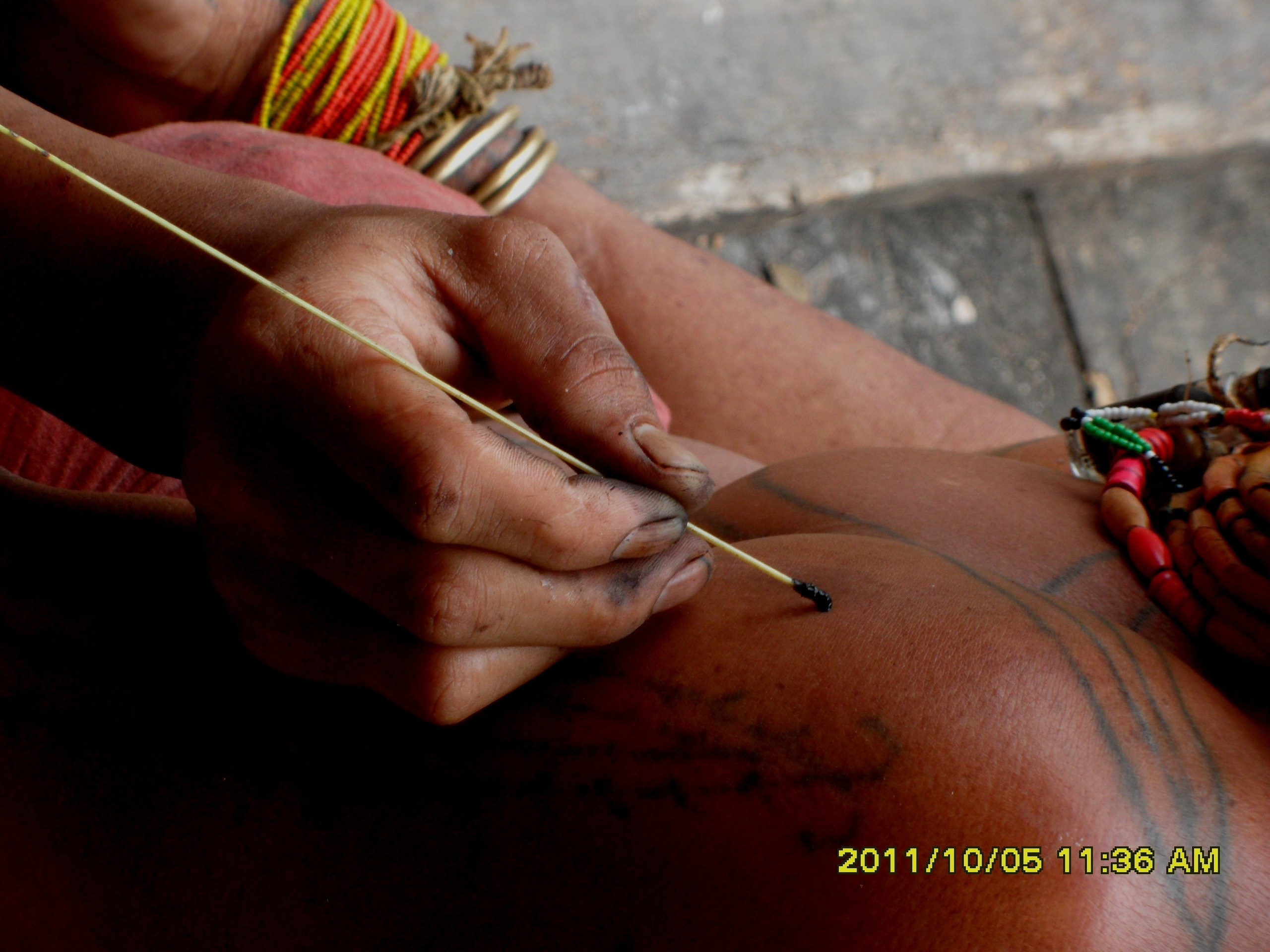 Mentawai Tribe - Traditional Tatoo