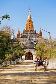 Bagan temple Myanmar