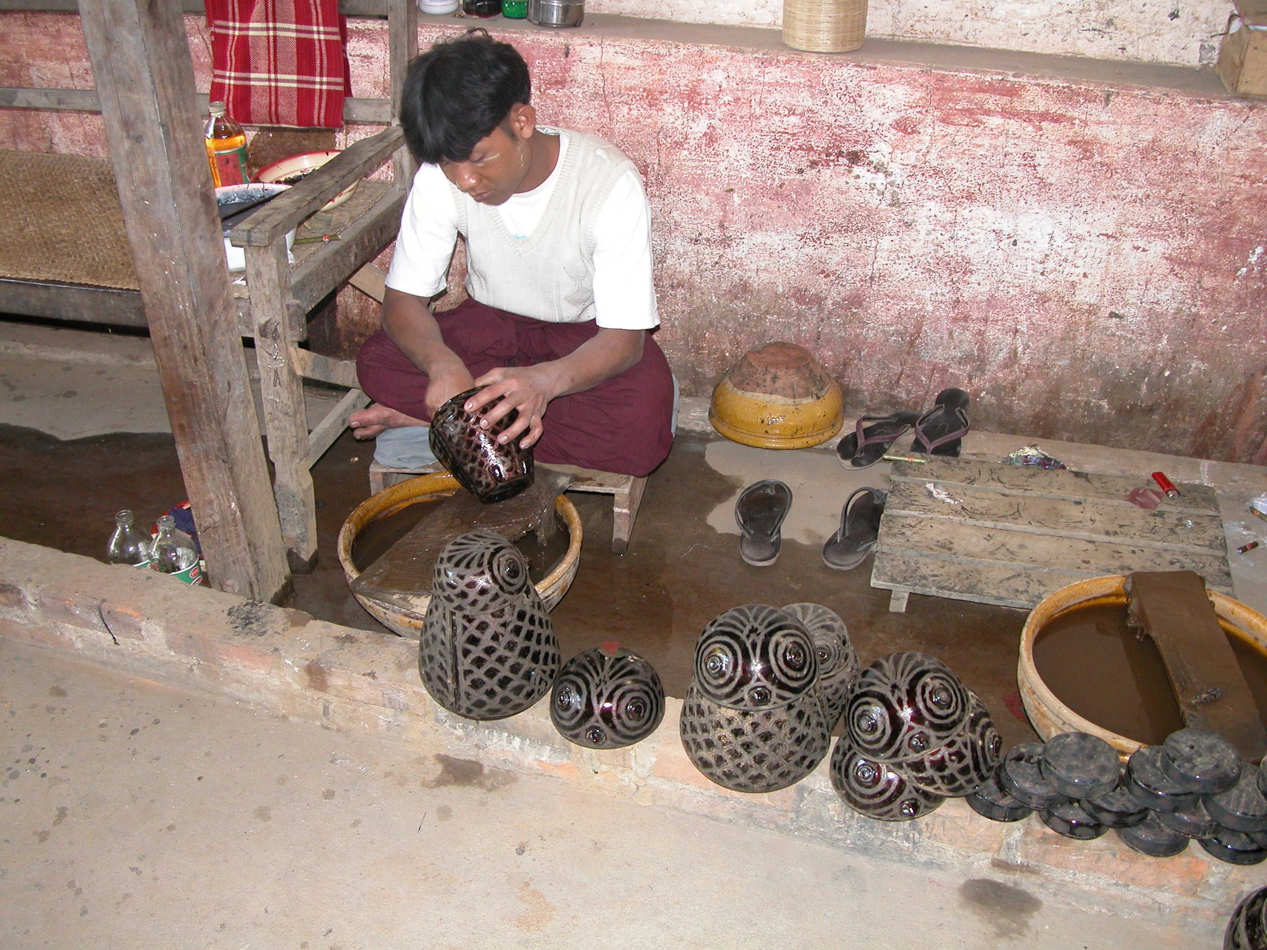 7.Bagan Lacquer ware