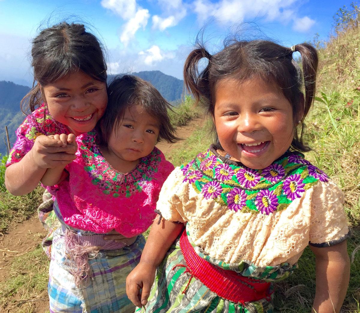 Mayan Community Glamping Trek -  Guatemala Mayan Smiles