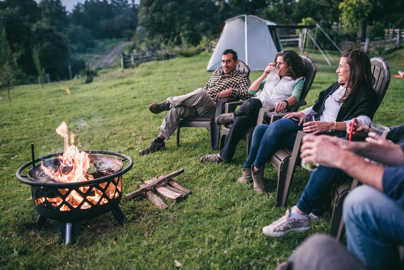 AntiguaGlamping#09 - Campfire