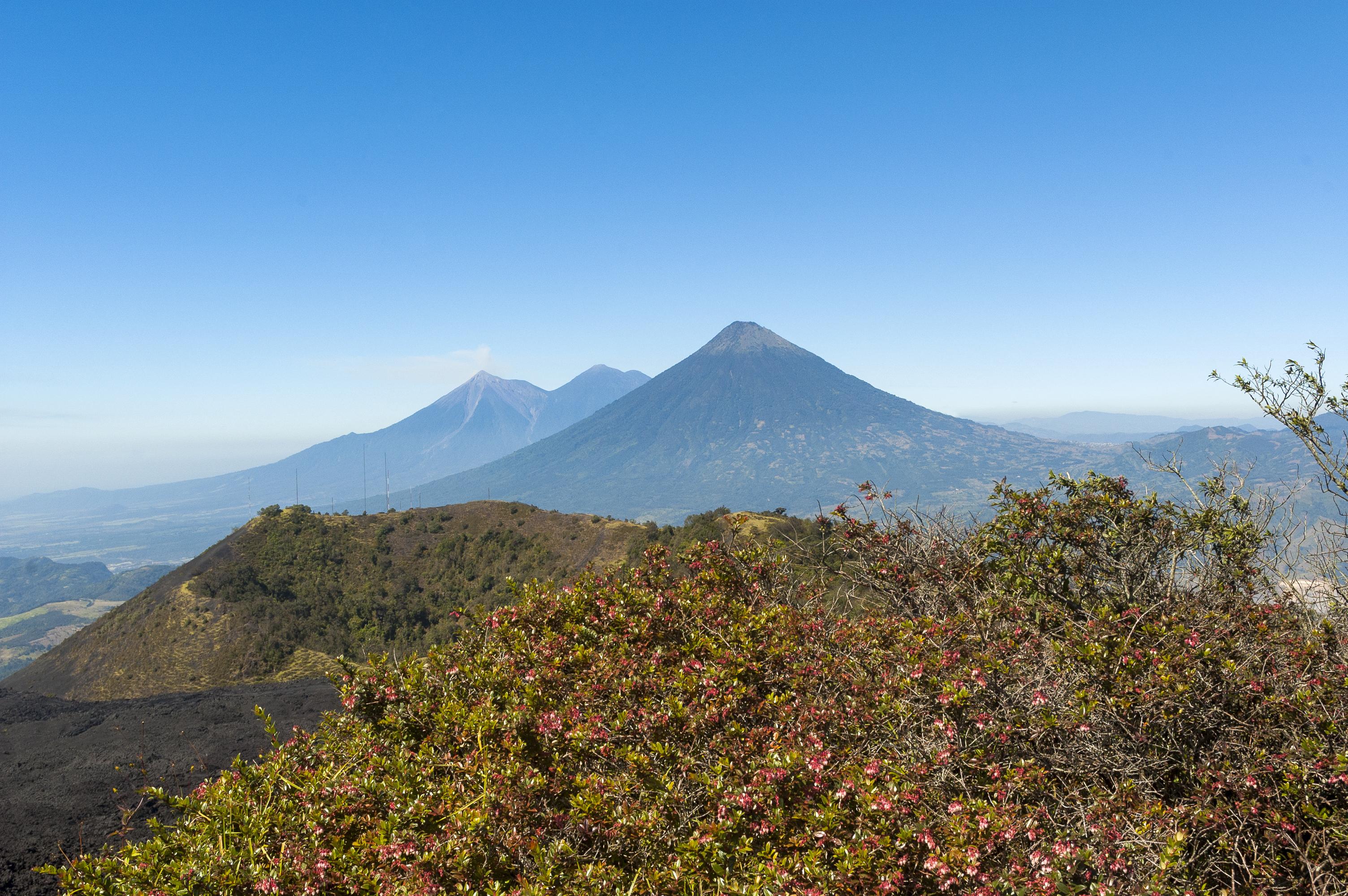 Guatemala Volcano Strip