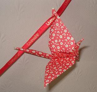 Origami crane promotion image 1