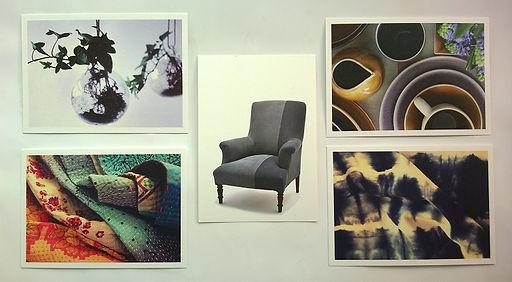 Ines Cole Postcards printe by Greenprint