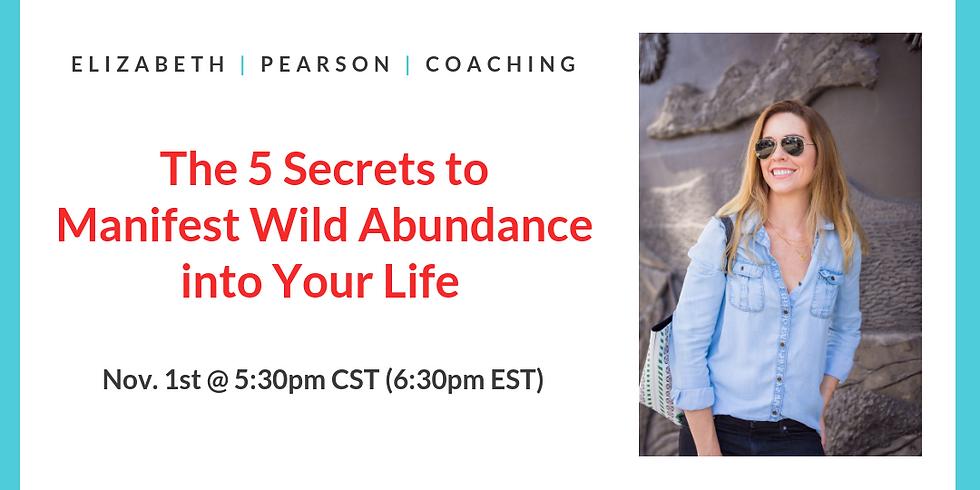 Free 45-Min Masterclass- Manifesting Abundance