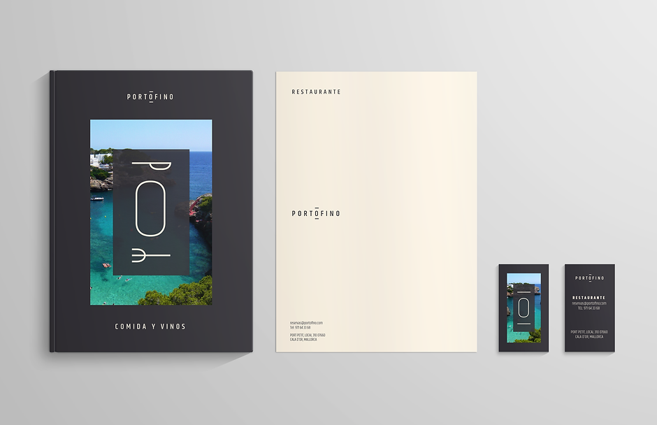 Portofino | Branding | Papeleria