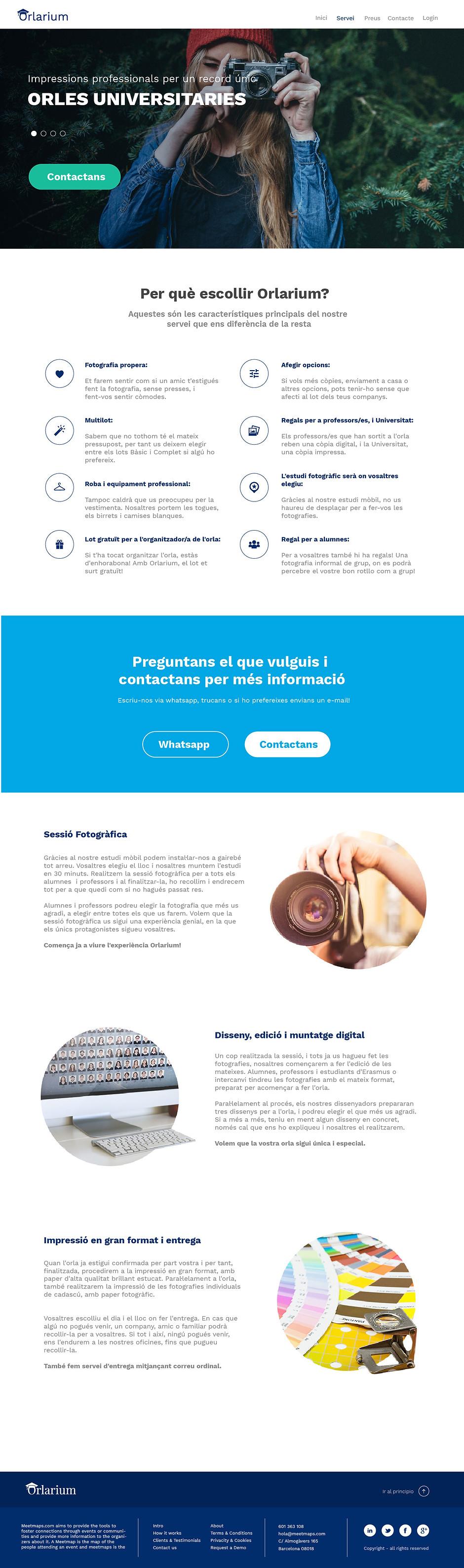 Orlarium | diseño web serveis