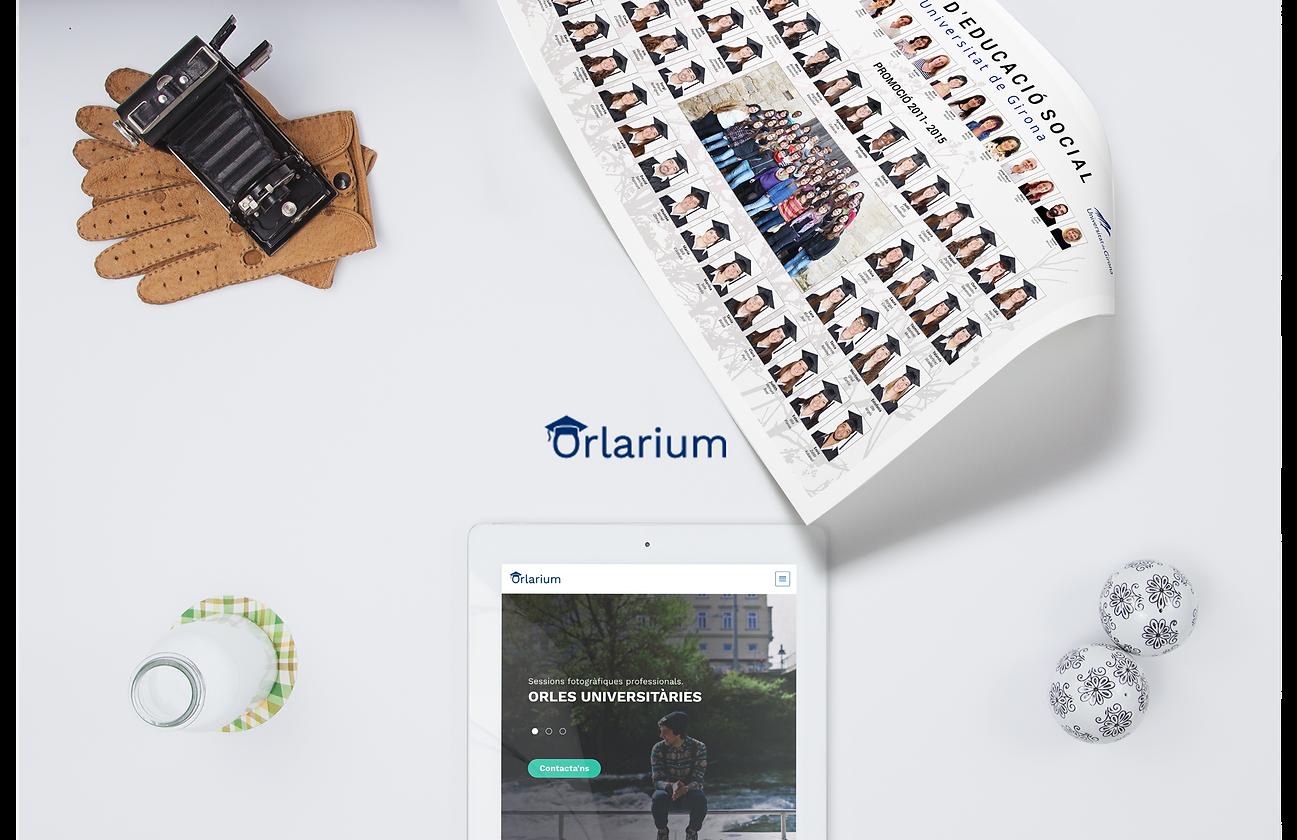 Orlarium | ipad view