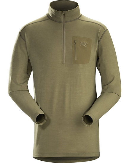 ARC'TERYX COLD WX ZIP NECK AR - WOOL
