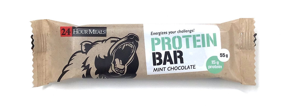 24 HOUR MEALS - MINT CHOCOLATE - PROTEIN BAR