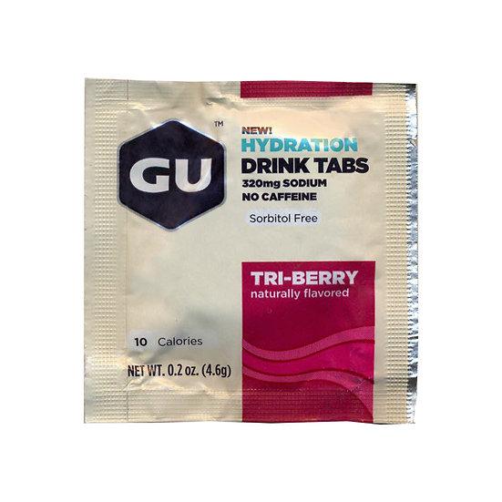 GU HYDRATION DRINK TABS, 1TAB