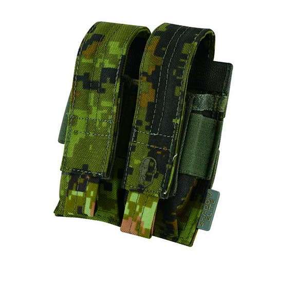 SHADOW TACTICAL DOUBLE PISTOL MAG POUCH