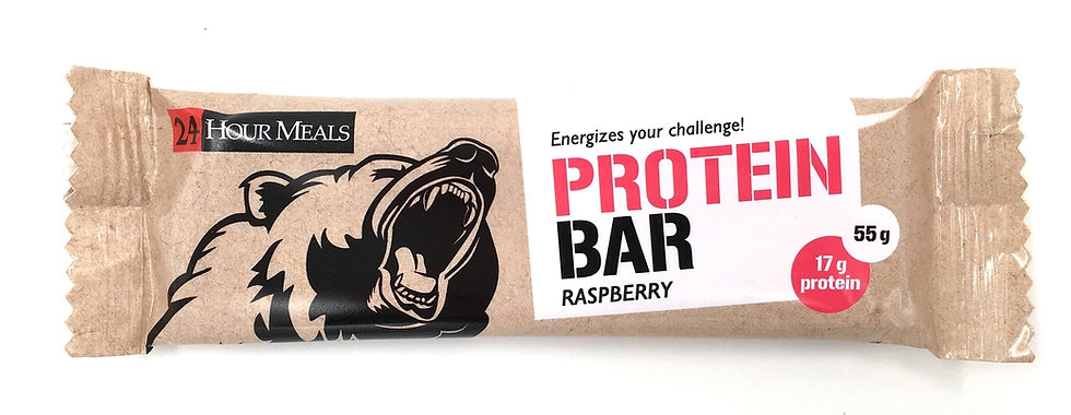24 HOUR MEALS - RASPBERRY - PROTEIN BAR