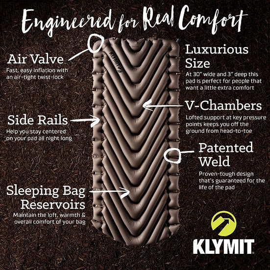 KLYMIT STATIC V LUXE MADRATS