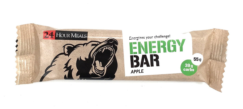 24 HOUR MEALS - APPLE - PROTEIN BAR