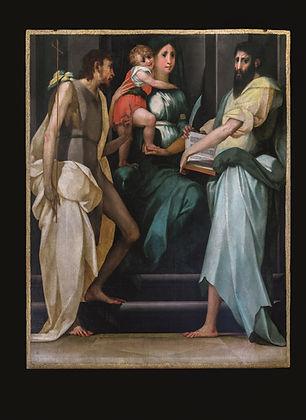 Madonna in trono e Santi