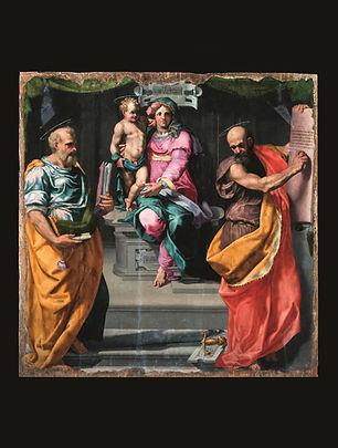 Madonna col Bambino e Santi Pietro e Paolo