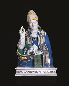 Busto di San Lino Papa