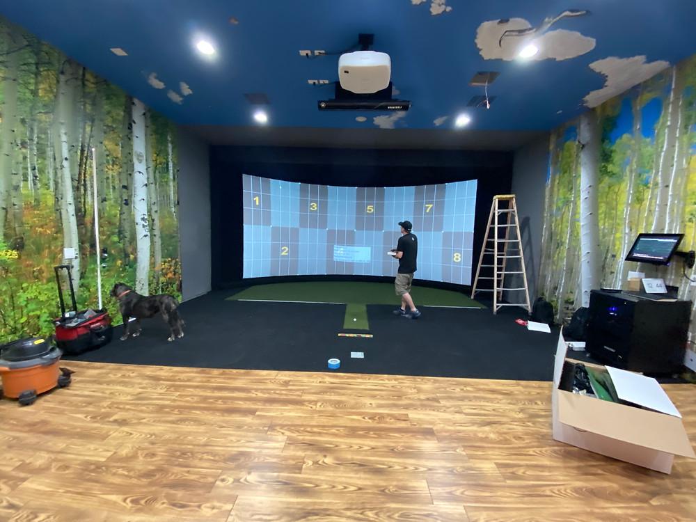 adaptive golfer installation
