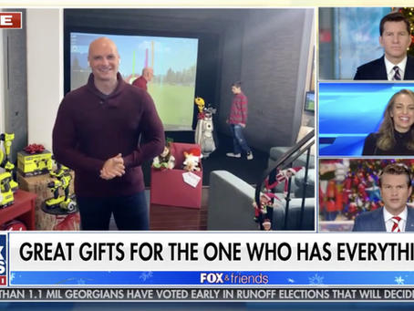 aboutGOLF Featured on Chip Wade's Gift List