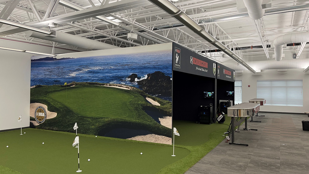 golf simulators for office