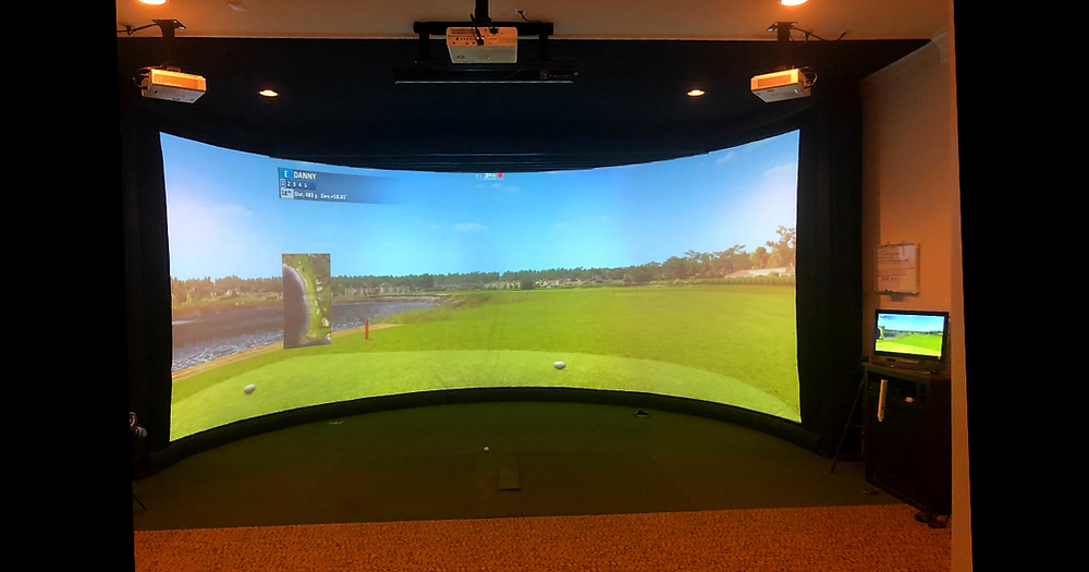 golf simulator at home