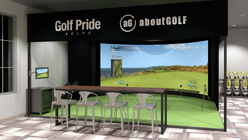 aboutgolf simulator golf pride pinehurst