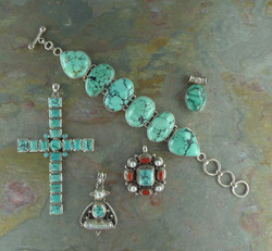 Turquoise & Sterling Items