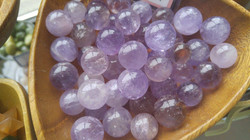 Amethyst Marbles