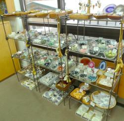 Display Shelves - Pebbles, etc