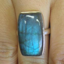 Labradorite Ring (sterling)