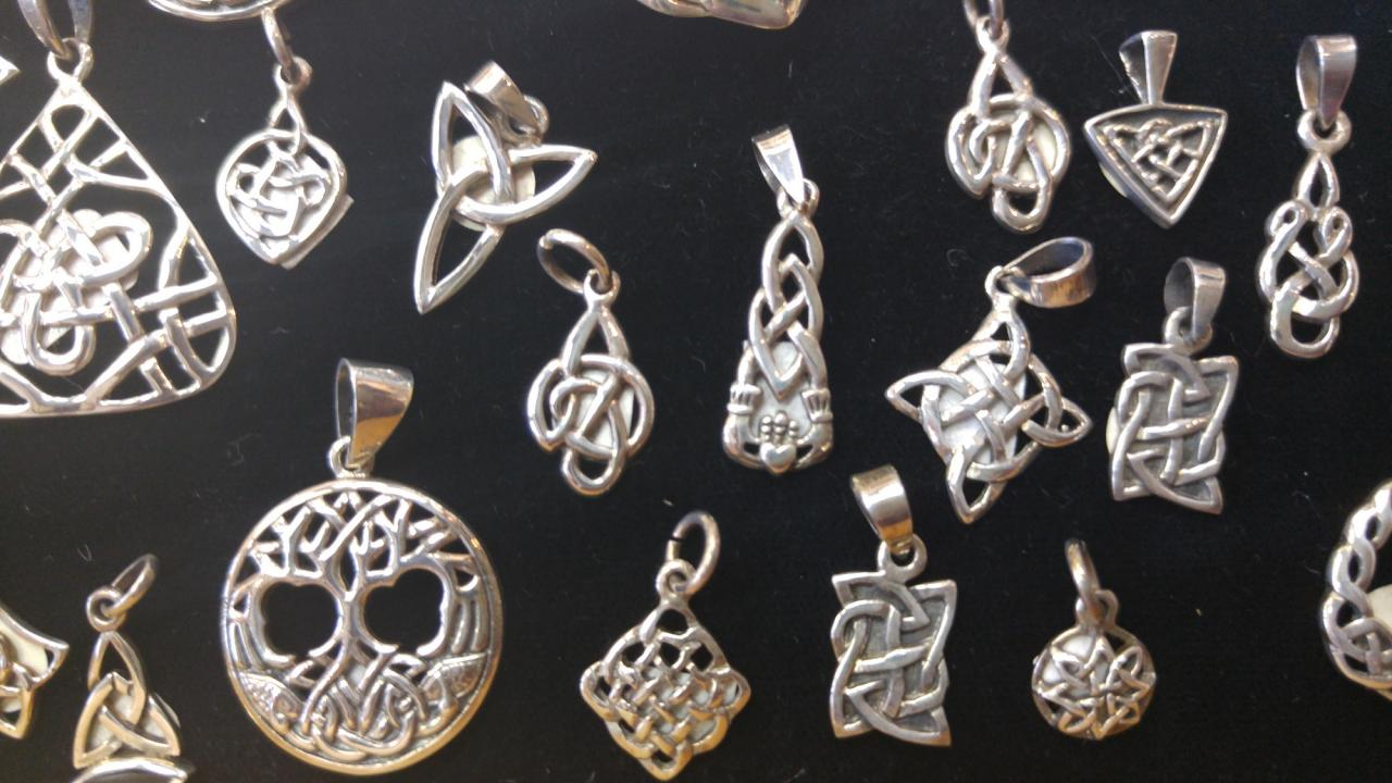 Sterling Celtic Pendants (small)