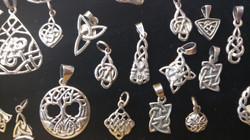 Sterling Celtic Pendants (small)